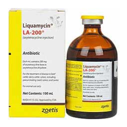 Liquamycin LA-200 Antibiotic for Use in Animals Zoetis Animal Health